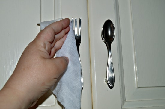 Cabinet and drawer pulls are one of the surfaces to clean to reduce colds and flu