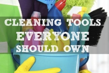 10 Cleaning Tools Everyone Should Own