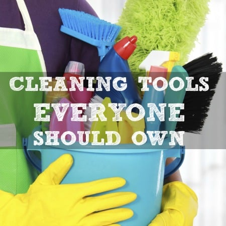 Cleaning tools everyone should own