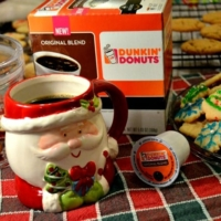 Warm Up The Holidays with Dunkin' Donut Coffee at Home