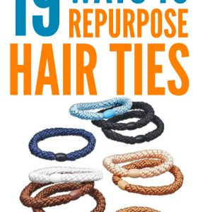 19 Ways To Repurpose Hair Ties