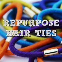 20 Ways To Repurpose Hair Ties