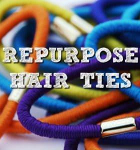 20 Ways To Repurpose Hair Ties