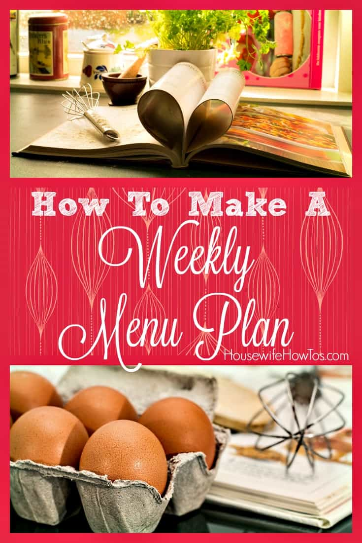 8 steps to create a weekly menu plan both you and your family will enjoy, then use it to save time and stretch your grocery budget all year long.