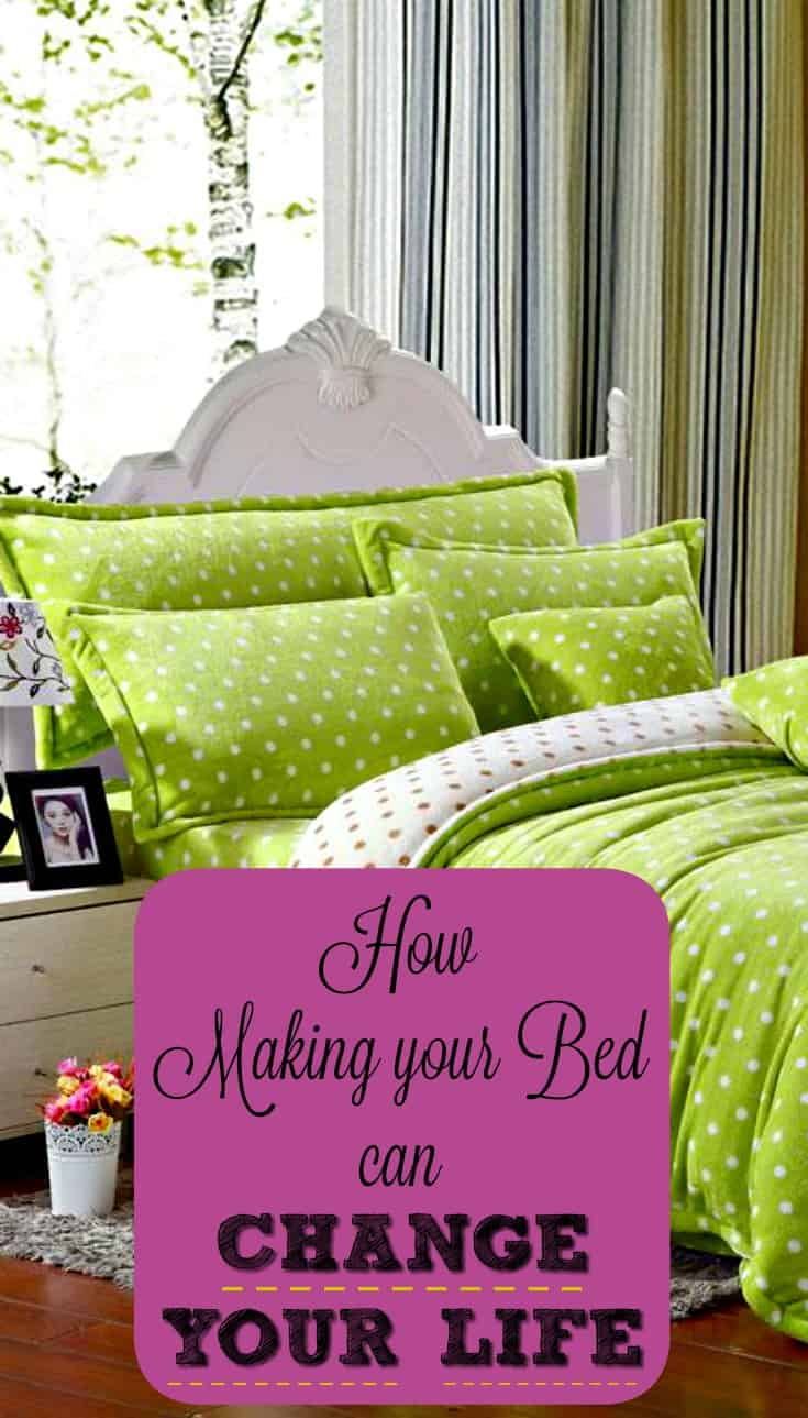 Find out the 4 reasons why making your bed every day can change your life, and how soon you can expect to see amazing results!