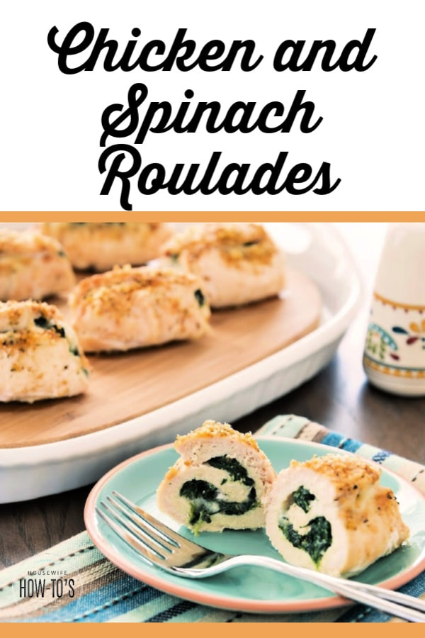 Stuffed Chicken and Spinach Roulade Recipe