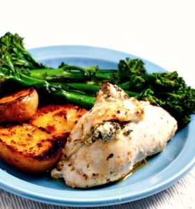 Chicken and Spinach Roulade Recipe