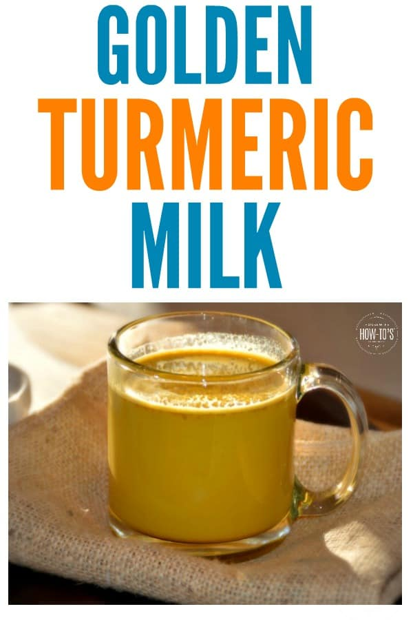 Golden Turmeric Milk is full of anti-oxidants and anti-inflammatory ingredients that will also help you sleep better. #goldenmilk #milk #turmeric #antiinflammatory #antioxidant #insomnia #beverage #turmericlatte #flavinoids #healthy #warmmilk #soothingbeverage #arthritis #jointpain #housewifehowtos #turmericmilk