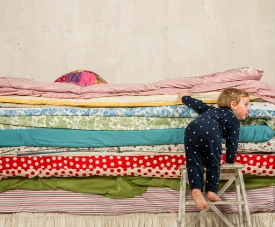 Help Kids Organize Their Rooms by Making It Easy To Make The Bed