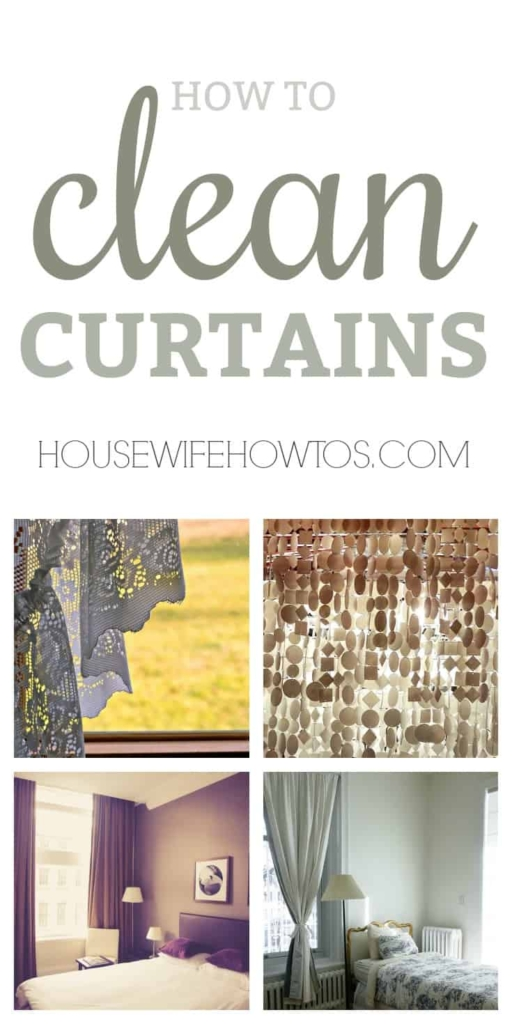 How To Clean Curtains Get Any Type Of Curtain Clean And