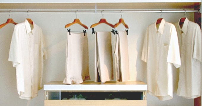 How to spend less on clothes - Pick a color scheme and stick with it