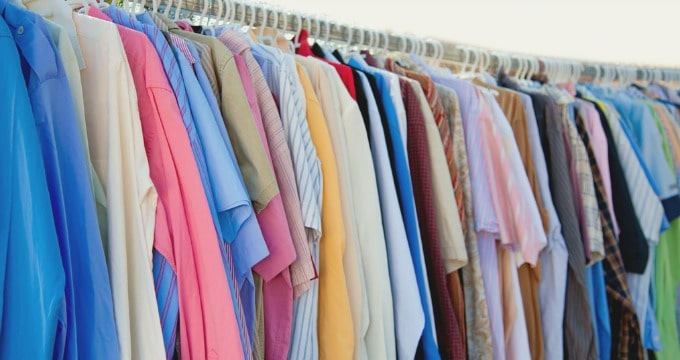 How to spend less on clothes - Shop the mens department