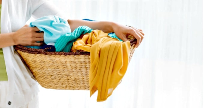 How to spend less on clothes - Wash your clothes less often