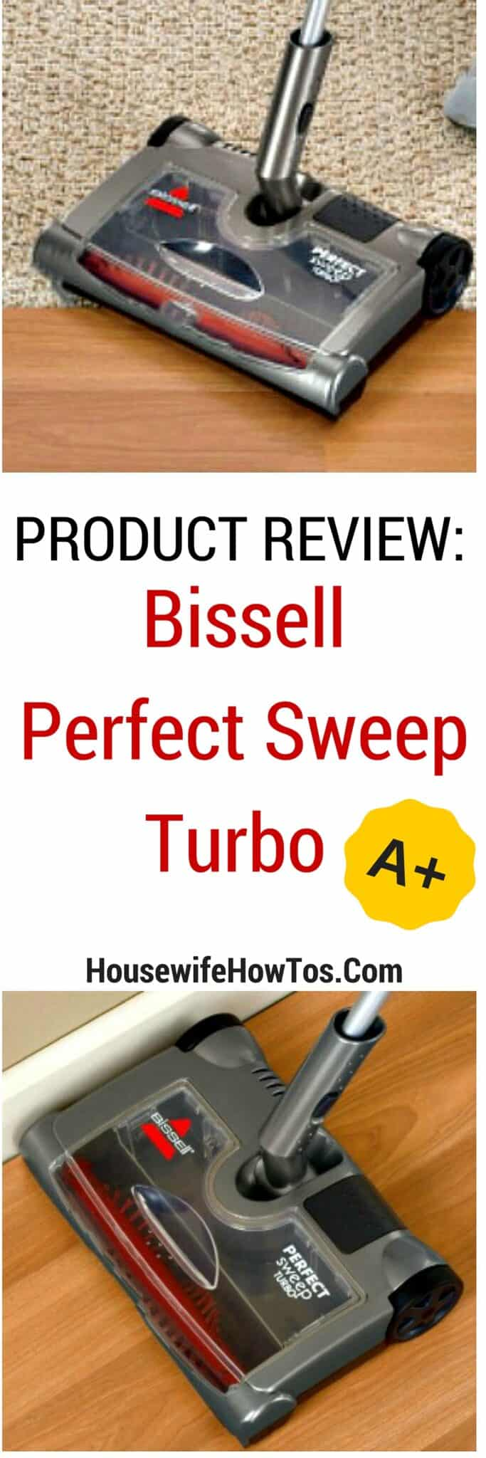 Pin Bissell Perfect Sweep Turbo Product Review