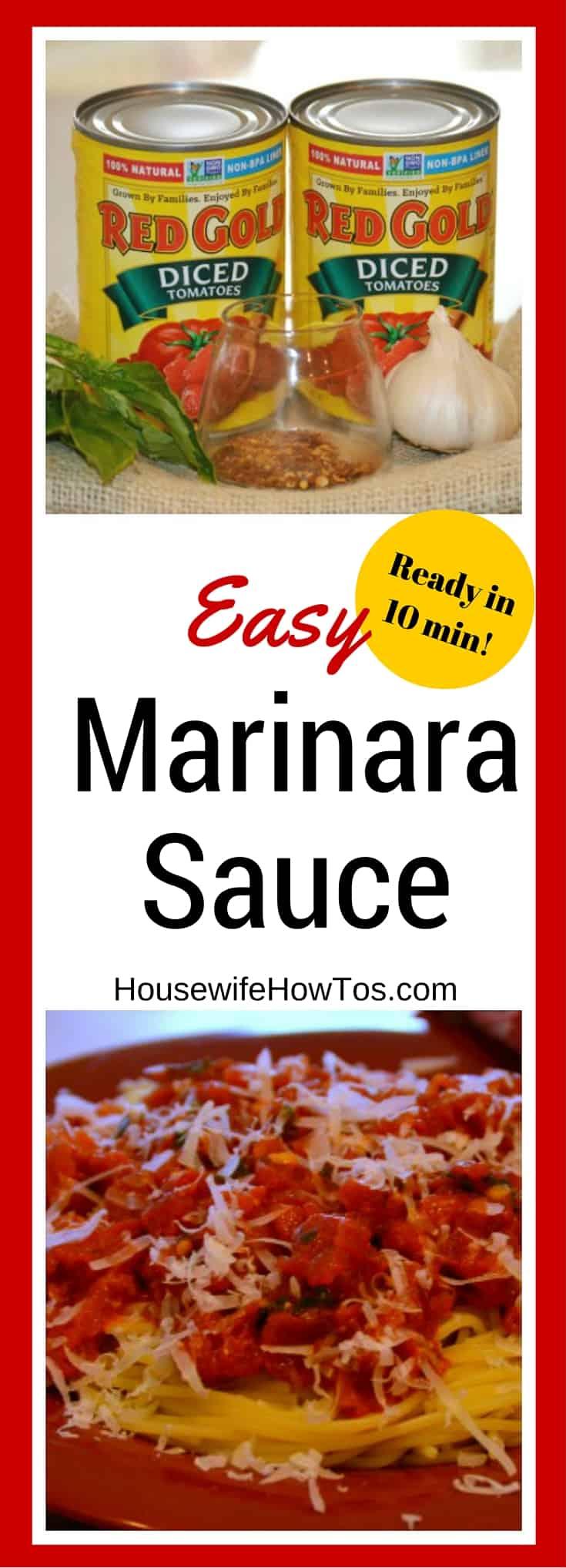 Pin Easy Marinara Sauce Recipe