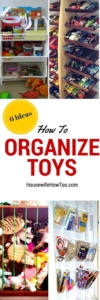 Pin How To Organize Toys