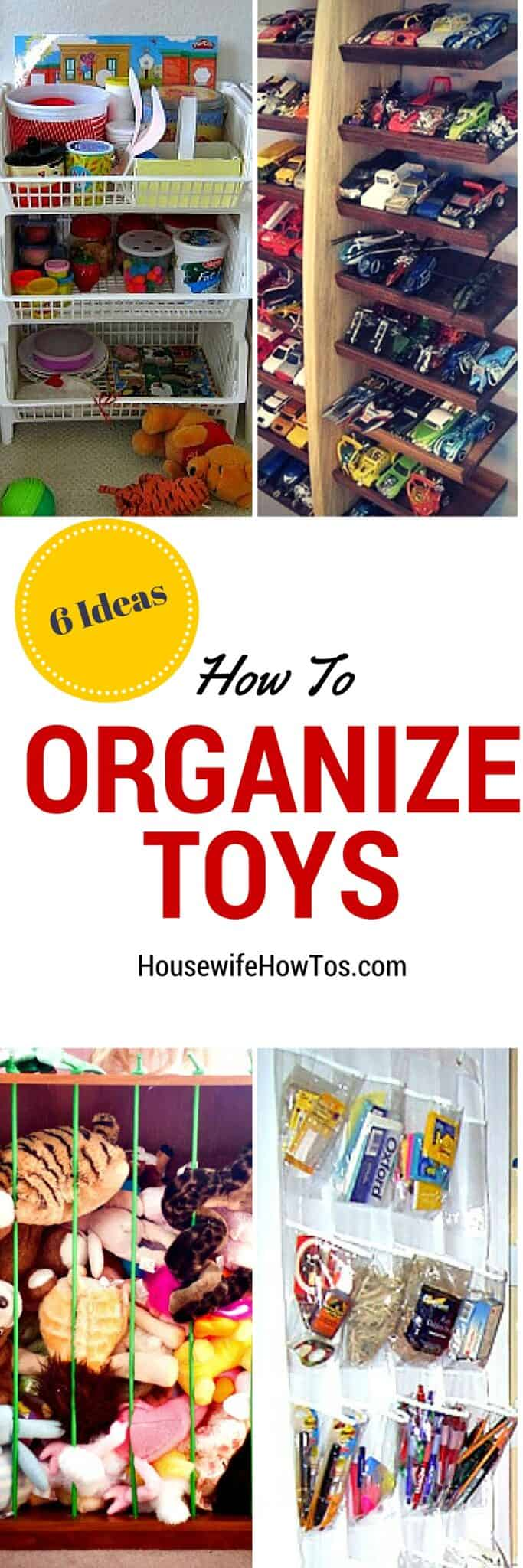 How To Organize Toys #organizing #toystorage #homeorganization #cluttercontrol #declutter #unclutter #storagesolutions