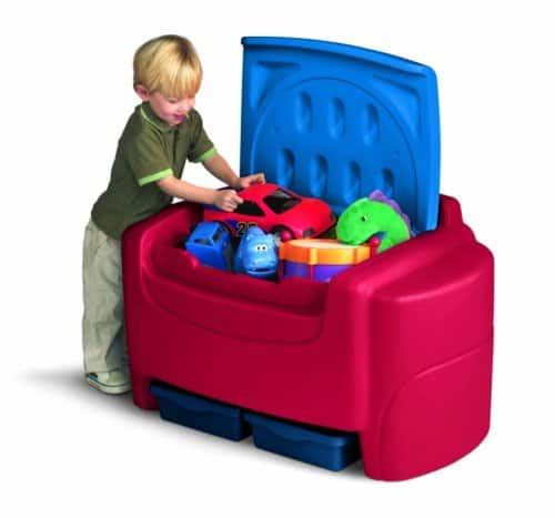 How to organize toys - Use a toy chest