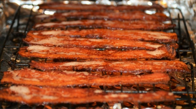 Breakfast Bowl Recipe - Make bacon in the oven