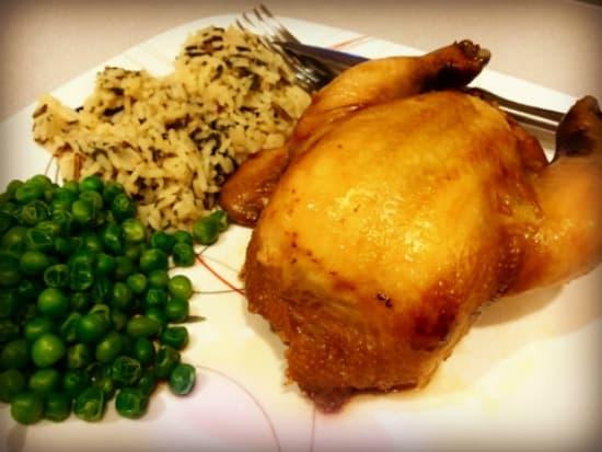 Crockpot Cornish Hens - No need to roast to crisp the skin