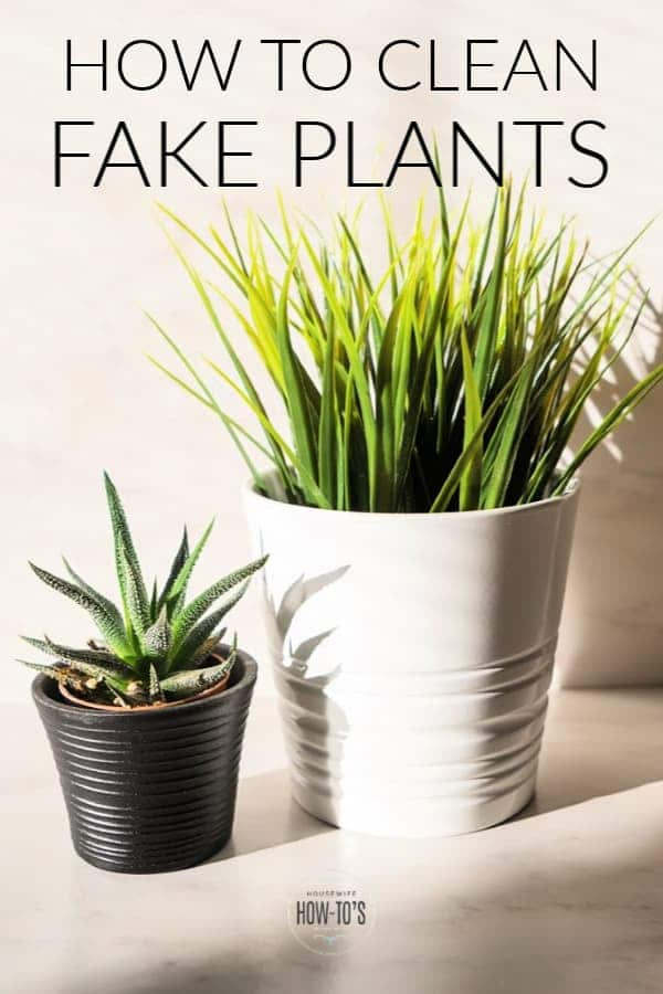 How to Clean Fake Plants