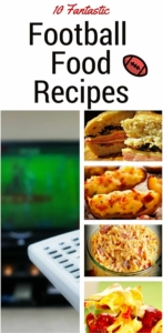 Pin Fantastic Football Food Recipes