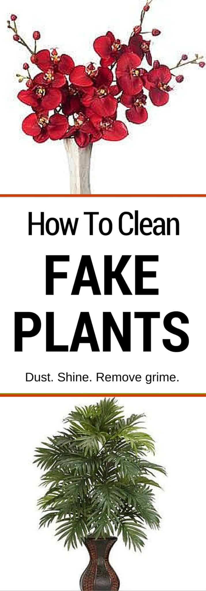 Pin How To Clean Fake Plants