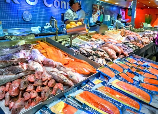 Save money on groceries without coupons - Choose frozen for most fish and seafood