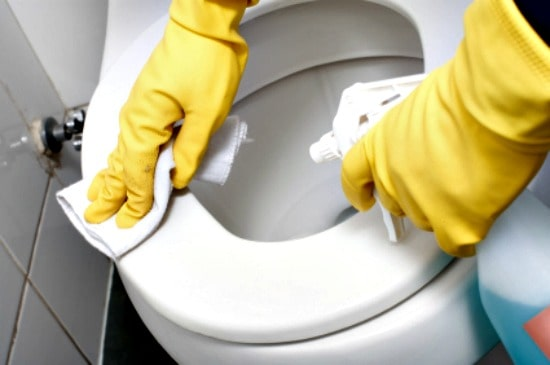How To Clean Vomit - Clean Toilets After Sick Person Uses Them
