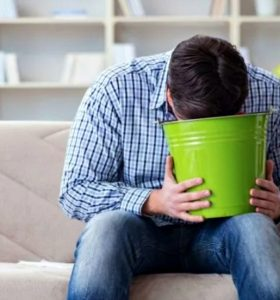 How To Clean Vomit and Stop the Stomach Flu