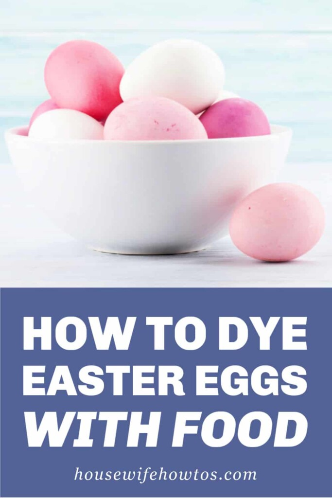 How to Naturally Dye Easter Eggs with Food