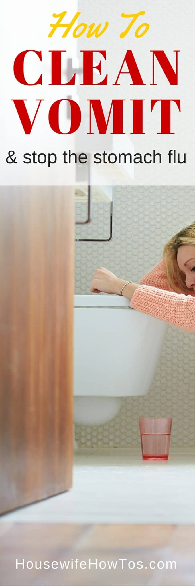 Steps to deal with the mess, even when you're too sick to clean, then keep the illness from spreading throughout the house.