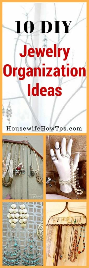 Pin Jewelry Organization Ideas