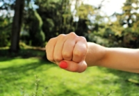 Why Moms Should Go On Strike - Fist bump