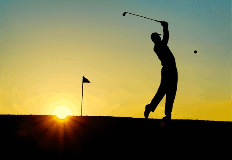 Why Moms Should Go On Strike - Man golfing