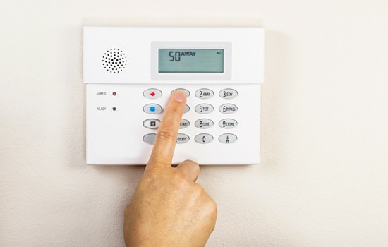 Theft-proof your home with an alarm system