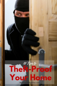 Theft-Proof Your Home with these 10 Steps
