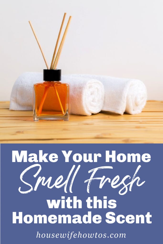 Make Your Home Smell Fresh with these homemade air freshener recipes