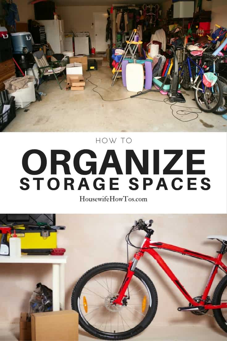 How To Organize Storage Spaces