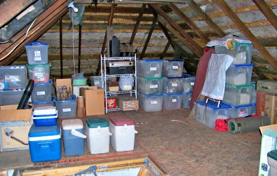 How To Organize Storage Spaces Before Winter - Survey Strictly