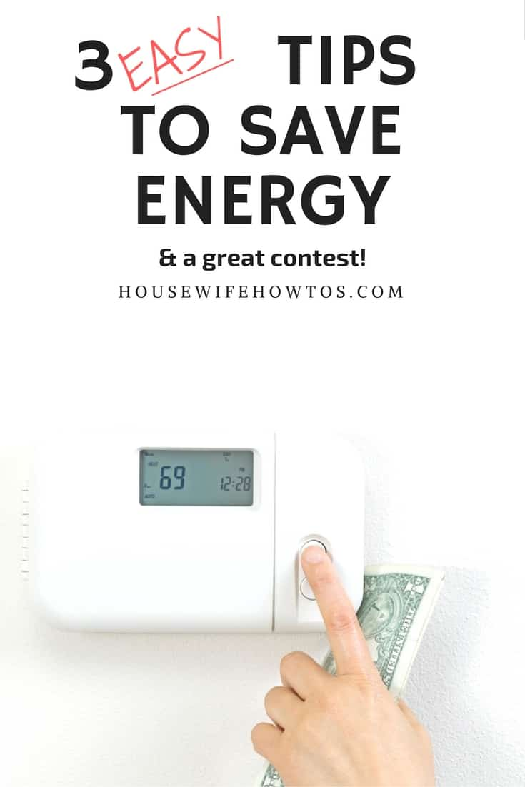 Tips to Save Energy and Lennox Contest - Share your tips to enter #ad