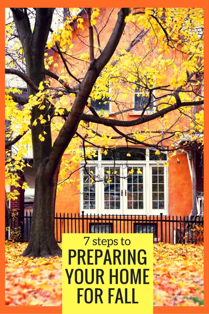 7 Steps To Preparing Your Home For Fall - I learned these the hard way and it cost me several thousands of dollars! | via @HousewifeHowTos