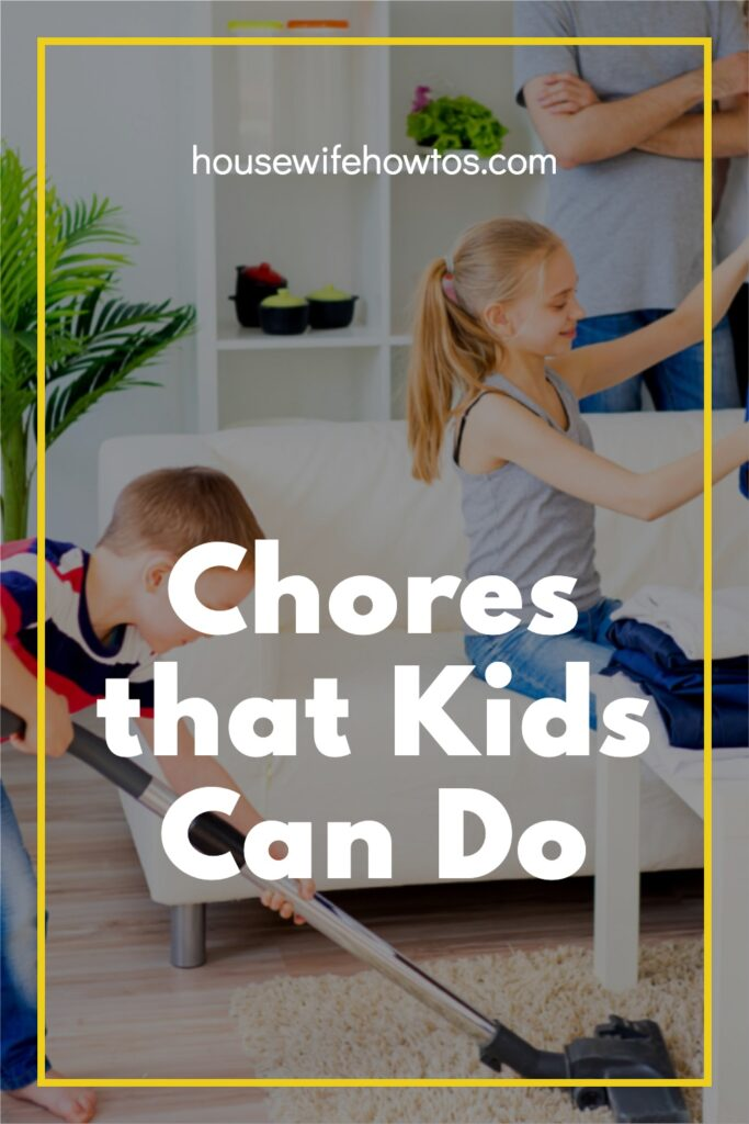 Chores that Kids Can Do
