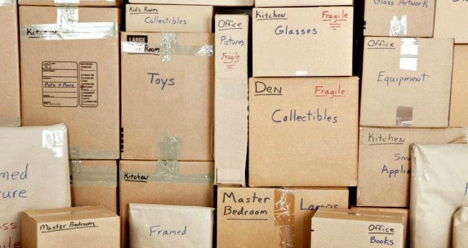 Moving Checklist - 5 Steps to a smooth transition