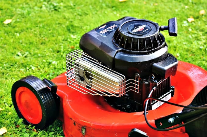 Preparing Your Home For Fall - Drain and store your lawn equipment