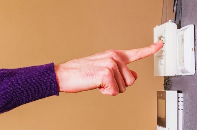 Preparing Your Home For Fall - Get the HVAC serviced and switch the thermostat to heat