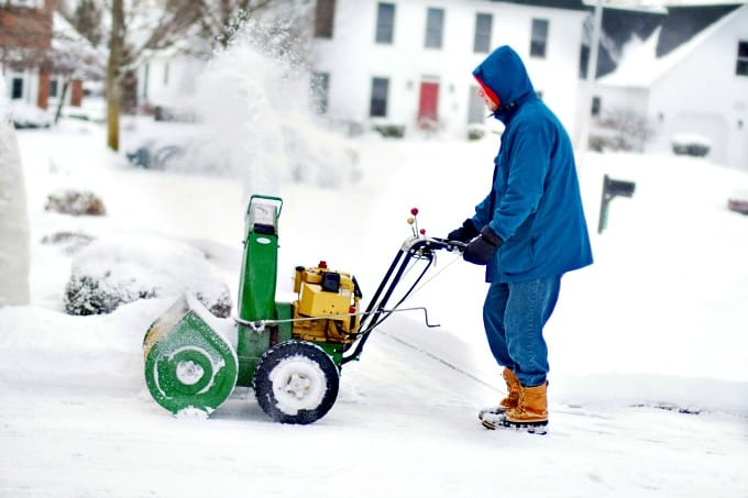 Preparing Your Home For Fall - Stock up on ice melt and check your snow blower