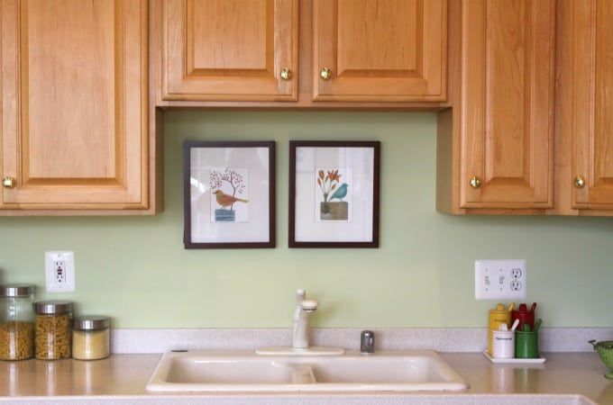 Reducing Clutter - Empty Your Kitchen Sink