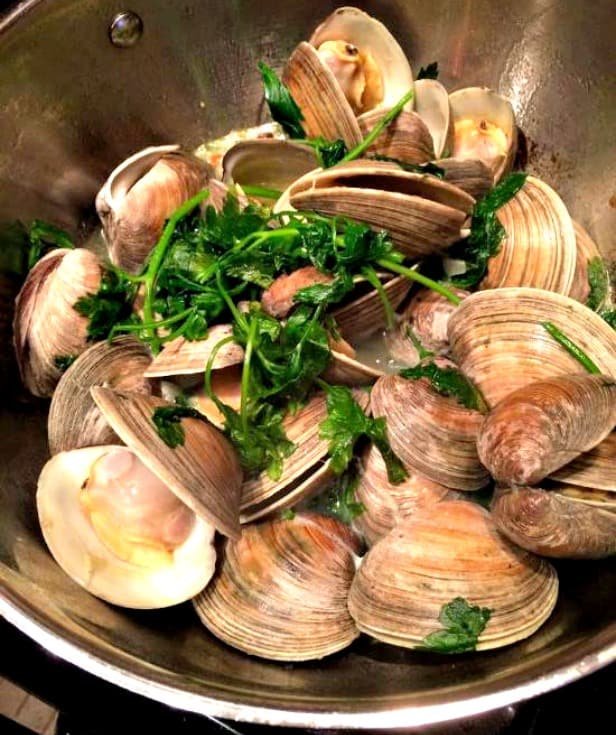 Dinners for the Lazy, Frugal Cook - Clams, Italian-style