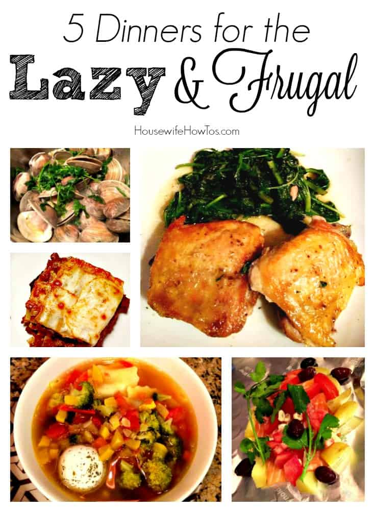I love these easy but delicious recipes. This is how real people cook!